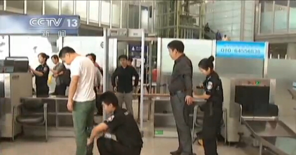首都机场PD140V金属探测器贴身安检服务获好评[图]